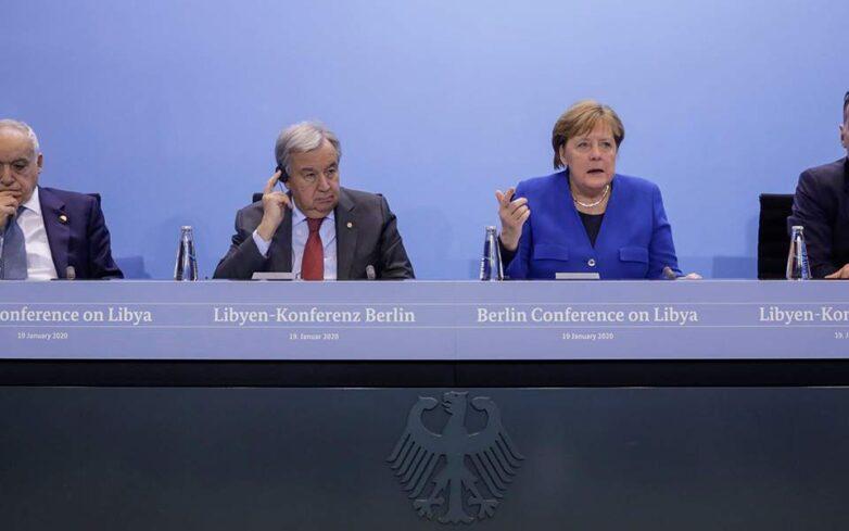 Διάσκεψη Βερολίνου: Κατάπαυση του πυρός και τήρηση του εμπάργκο όπλων στη Λιβύη