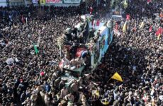 Κηδεία Σουλεϊμανί στην Κερμάν: Τουλάχιστον 50 άτομα ποδοπατήθηκαν μέχρι θανάτου