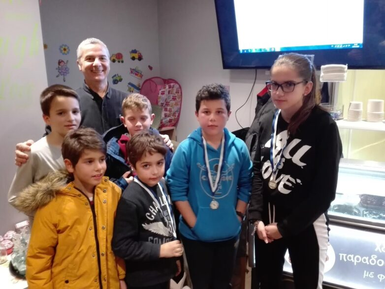 """Διεξήχθη το τουρνουά σκάκι """"20 RAPID – To Pionaki"""" στην Αγριά Βόλου"""