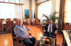 Τον δήμαρχο Βόλου επισκέφθηκε ο Άδωνις Γεωργιάδης