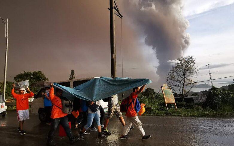 Συναγερμός στις Φιλιππίνες για επικείμενη μεγάλη έκρηξη του ηφαιστείου Ταάλ