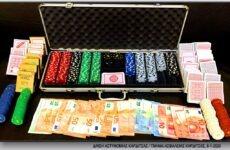 Συνελήφθησαν οκτώ άτομα στον Παλαμά Καρδίτσας για διενέργεια και συμμετοχή σε παράνομο τυχερό παίγνιο
