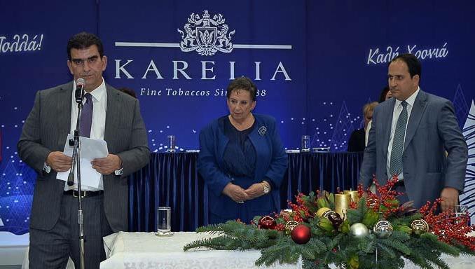 Παροχές 3,85 εκατ. ευρώ μοίρασε σε υπαλλήλους του και ιδρύματα ο Καρέλιας