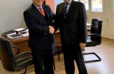 Επίσκεψη προέδρου Ε.Ε.ΣΥ.Μ στον Οργανισμό Λιμένος Βόλου Α.Ε.