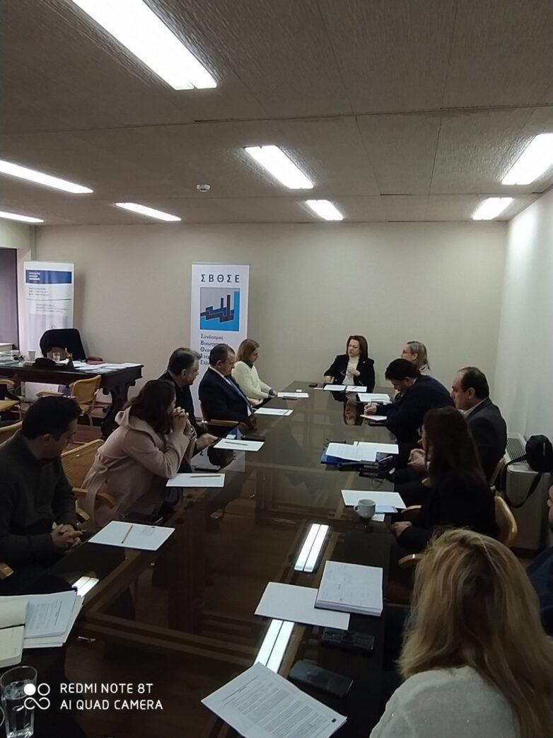 Συνάντηση εργασίας ΟΛΒ ΑΕ -ΣΒΘΣΕ για την ανάπτυξη του Λιμανιού