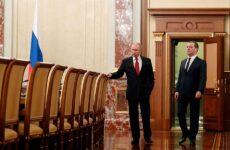 Παραιτήθηκε η κυβέρνηση Μεντβέντεβ