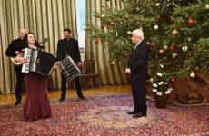 Ο Πρόεδρος της Δημοκρατίας υποδέχθηκε  τη Ζωή Τηγανούρια στο Προεδρικό Μέγαρο