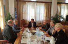 Επίσκεψη του πρέσβη της Δανίας στο Δημαρχείο του Βόλου