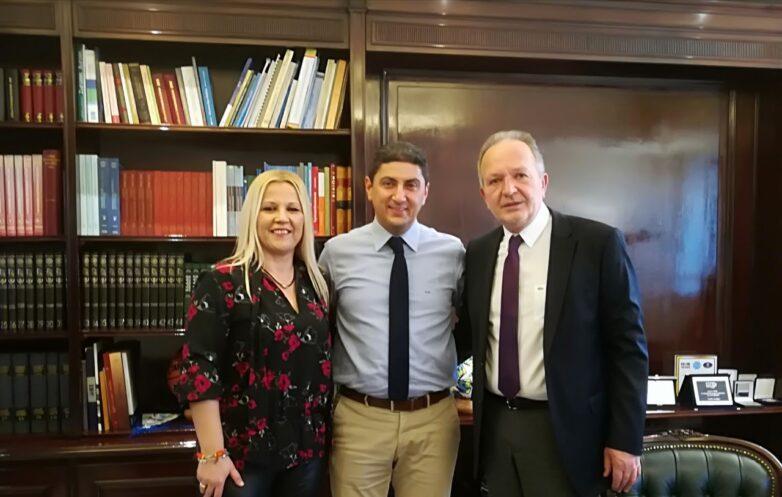 Συνάντηση Κολυνδρίνη-Αυγενάκη-Λιούπη για τη δυνατότητα χρηματοδότησης έργων