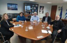 Σε συνάντηση εργασίας με τους γ.γ. του Υπουργείου Ναυτιλίας & Νησιωτικής Πολιτικήςο Νικ. Ντίτορας