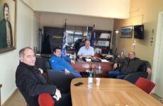 Συνάντηση δημάρχου Ρήγα Φεραίου και πρόεδρου Αεραθλητικής Ένωσης Μαγνησίας