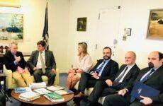 Η αναπτυξιακή προοπτική του Βόλου στη  συνάντηση με τον πρέσβη των ΗΠΑ Geoffrey Pyatt