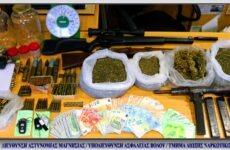 Σύλληψη δύο ατόμων στη Μαγνησία με πάνω από ένα κιλό κάνναβη