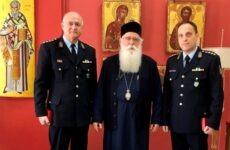 Στον μητροπολίτη ο νέος αστυνομικός δ/ντής Μαγνησίας