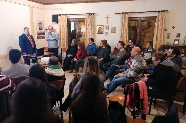 Παρουσίαση της δράσης του Ορθόδοξου Κινήματος Νεολαίας στο Σύνδεσμο Νέων Μ. Δημητριάδος