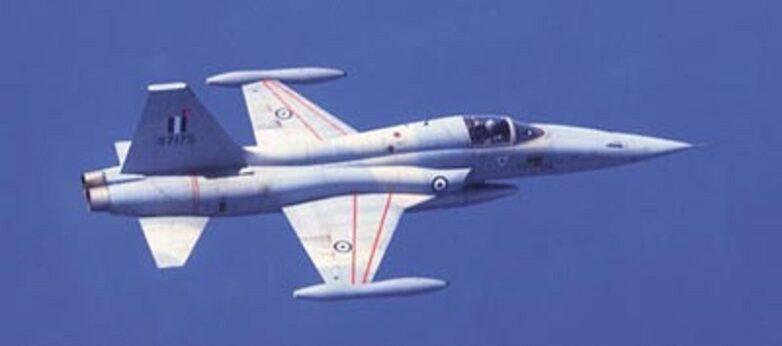 Mη λειτουργικό πολυβόλο αεροσκάφους F5 στο Καλαμάκι