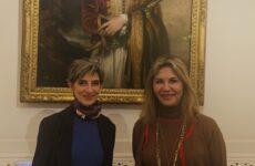 Συνάντηση  Ζέττας Μ. Μακρή με τη Βρετανίδα πρέσβη Kate Smith