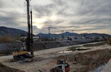 Ξεκίνησε η κατασκευή της νέας οδογέφυρας στη Λάμια Διμηνίου