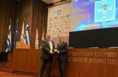 Η Ελληνική Ομοσπονδία Ποδηλασίας βράβευσε τον περιφερειάρχη Θεσσαλίας Κ. Αγοραστό