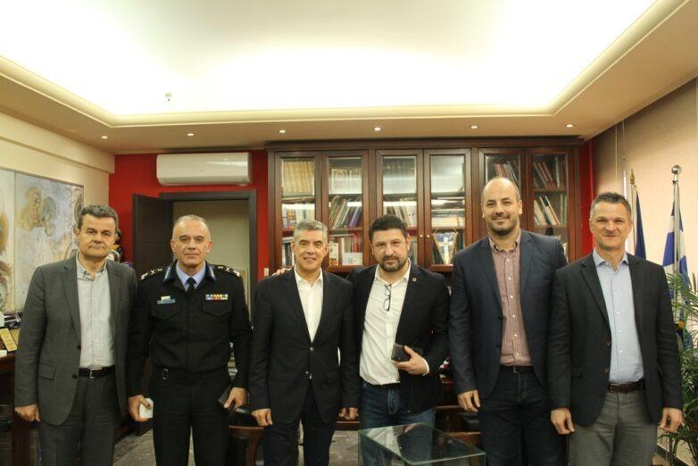 Συνάντηση περιφερειάρχη Θεσσαλίας – γ.γ. Πολιτικής Προστασίας για το νέο θεσμικό πλαίσιο πολιτικής προστασίας
