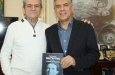 Στον Κώστα Αγοραστό ο λαϊκός τραγουδιστής Γιώργος Μαργαρίτης