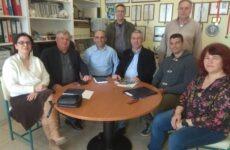Σύσκεψη στο 1ο ΕΠΑΛ Ν. Ιωνίας για τα εγκαίνια του Εργαστηρίου Μηχανοσυνθετών Αεροσκαφών
