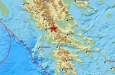 Σεισμός 4,7 Ρίχτερ στην Καρδίτσα