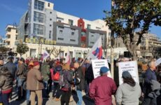 Συγκέντρωση του ΠΑΜΕ Μαγνησίας κατά του ασφαλιστικού νομοσχεδίου