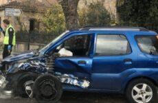 Τροχαίο στην Αγριά με ελαφρά τραυματίες
