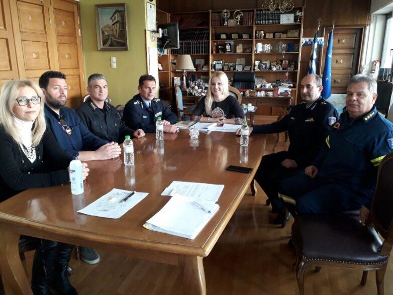 Εθιμοτυπική συνάντηση με την αντιπεριφερειάρχη ΠΕΜΣ η ηγεσία της Π.Υ.