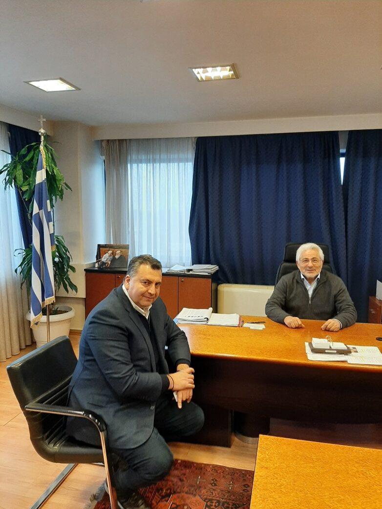 Στον συντονιστή Αποκεντρωμένης Διοίκησης Θεσσαλίας – Στερεάς Ελλάδαςο πρόεδρος της EXALCO Α.Ε.