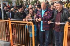 Τη νέα παιδική χαρά στους Αγίου Αναργύρους εγκαινίασε η δημοτική αρχή Βόλου