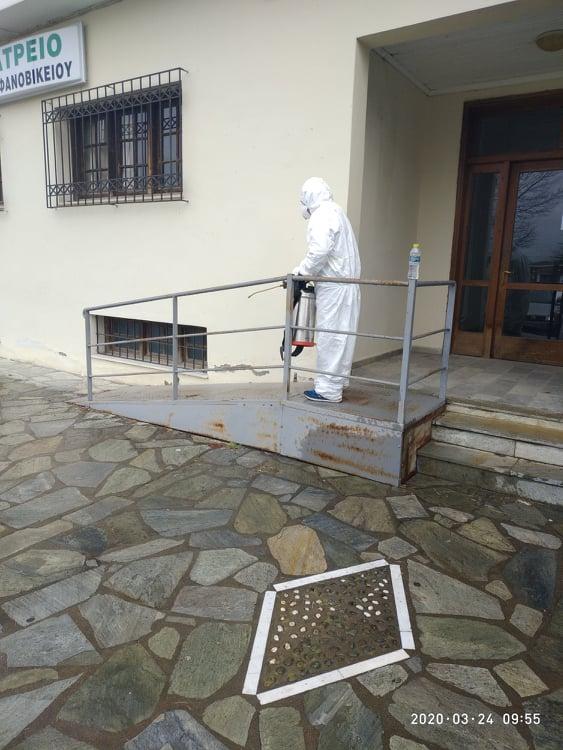 Συνεχίζονται οι απολυμάνσεις στον Δήμο Ρήγα Φεραίου