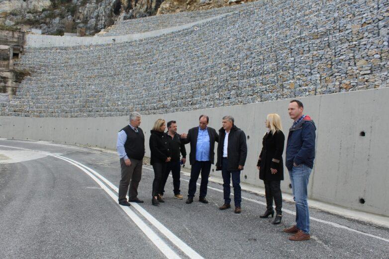 «Εργοτάξιο» το οδικό κύκλωμα Πηλίου με έργα αποκαταστάσεων ύψους 30 εκατ. ευρώ