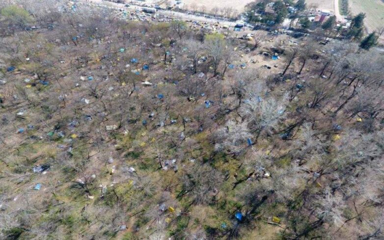 Έβρος: Αποψιλώνεται το δάσος των Καστανιών από τη συρροή μεταναστών