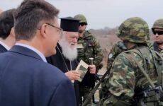 Δίπλα στα Σώματα Ασφαλείας στον Έβρο ο Αρχιεπίσκοπος Ιερώνυμος