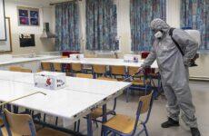 Κλειστά λόγω απολύμανσης τα σχολεία στον Δήμο Βόλου