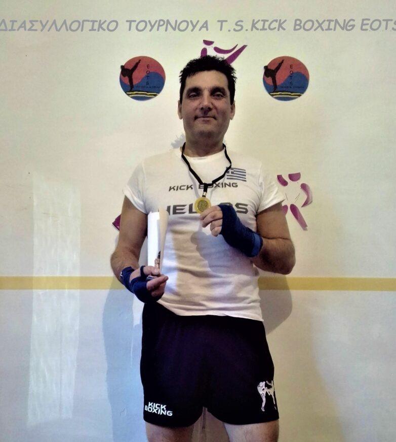 Την πρώτη θέση σε διασυλλογικό τουρνούα κατέκτησε ο Ανδρέας Κεχαγιάς