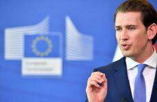 Σεμπάστιαν Κουρτς: Η Ελλάδα χρειάζεται την πλήρη αλληλεγγύη και υποστήριξη της Ε.Ε.