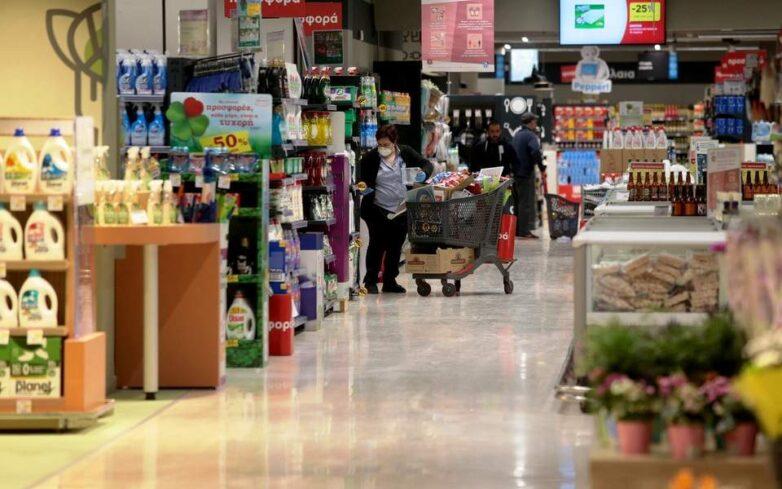 Ανακοινώθηκε το νέο ωράριο λειτουργίας των σούπερ μάρκετ