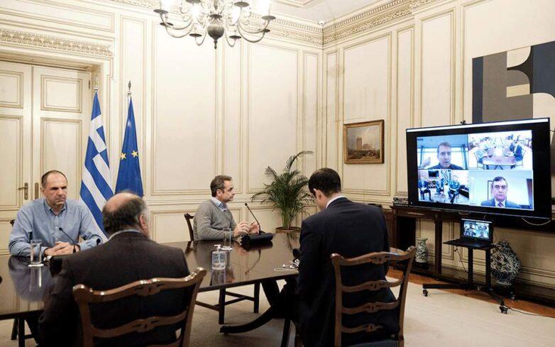 Έκκληση Μητσοτάκη σε υπουργούς και βουλευτές να καταθέσουν τον μισό μισθό τους κατά του κορωνοϊού