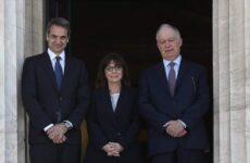 Oρκίστηκε Πρόεδρος της Δημοκρατίας η Αικατερίνη Σακελλαροπούλου