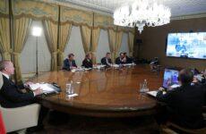 Τηλεδιάσκεψη Ερντογάν, Μακρόν, Μέρκελ και Τζόνσον για Συρία και μεταναστευτικό