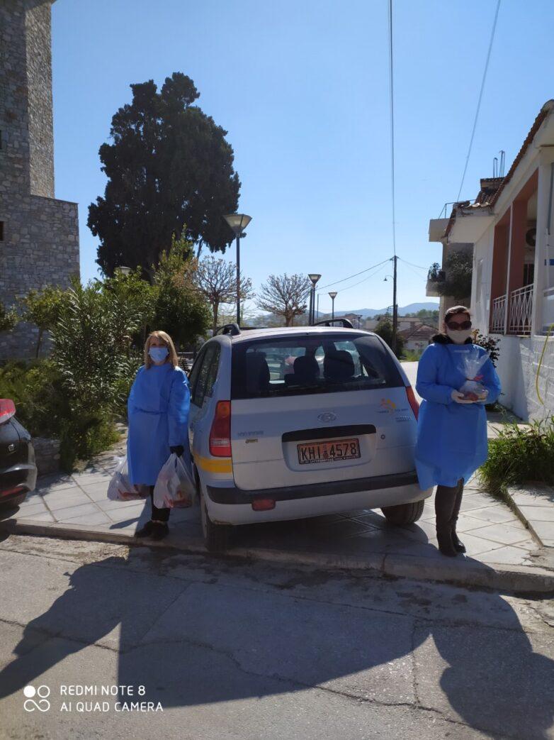 Εξυπηρετείται ο ευάλωτος πληθυσμός του Δήμου Ρήγα Φεραίου