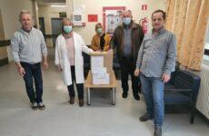 Παράδοση υγειονομικού υλικού στο Κ.Υ Βελεστίνου από τον δήμαρχο Ρ. Φεραίου