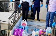 Τρόφιμα και είδη πρώτης ανάγκης από την ΟΝΝΕΔ Ρήγα Φεραίου στο Σουρλίγκειο γηροκομείο Καναλίων
