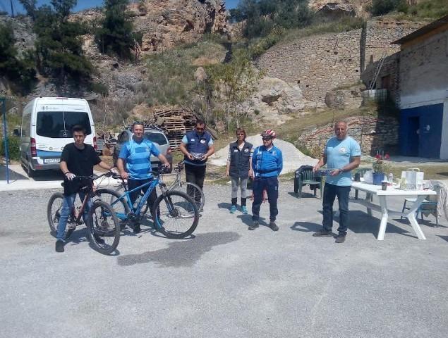 Μάσκες στη Λέσχη Ειδικών Δυνάμεων πρόσφερε η ποδηλασία της Νίκης Βόλου