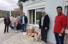 Παράδοση τροφίμων στο Ίδρυμα «Άσπρες Πεταλούδες» από το Σωματείο Επαγγελματιών Αδειούχων Ψυκτικών & Κλιματιστικών Εγκαταστάσεων Μαγνησίας