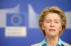 Νέα σύμβαση για εμβόλιο με τηModerna ανακοίνωσε η πρόεδρος φον ντερ Λάιεν