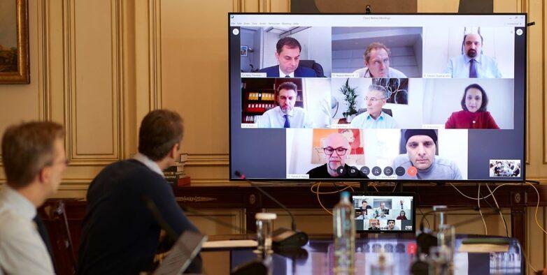 Tηλεδιάσκεψη του Πρωθυπουργού Κυριάκου Μητσοτάκη για την επανεκκίνηση του Τουρισμού μετά τον COVID-19